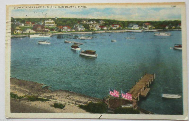 USA, Lake Anthony, Oak Bluffs, Mass., 1934