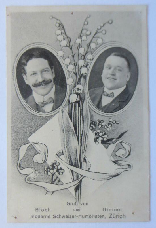 Zürich, Comedy, Humoristen Bloch und Hinnen, 1913 (31029)