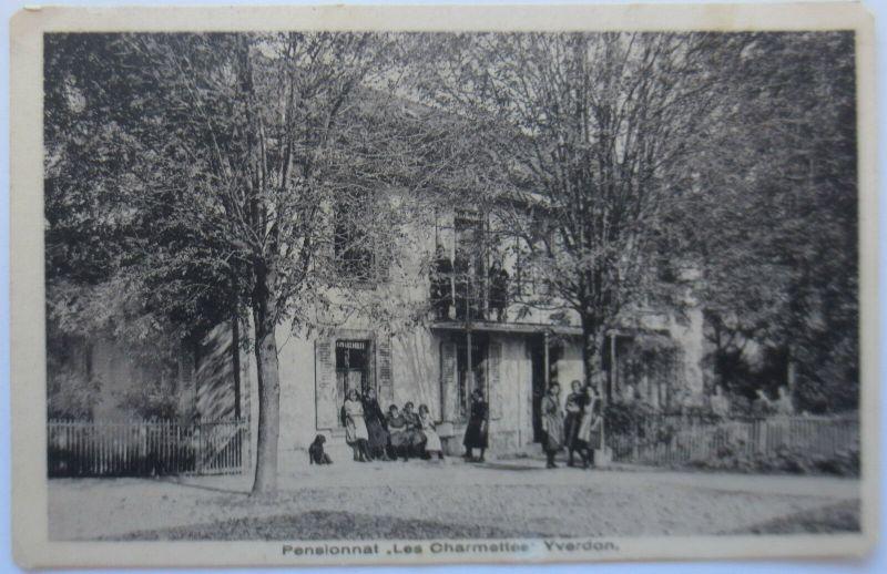 Yverdon, Pensionat, Schule, 1946 (12704)