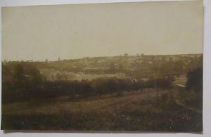 Frankreich, Soldatenlager vor Laon, Fotokarte mit Ortsangabe (18986)