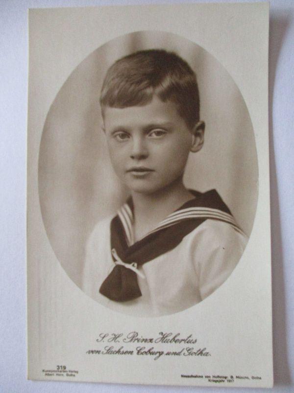 Sachsen Coburg Gotha, Prinz Hubertus (37756)