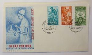 Spanien FDC Rio Muni XXV Jahre des Friedens1965 ♥ (16523)