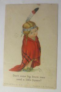 Kinder, Indianer, Squaw,   1930, C.H. Twelvetrees  ♥