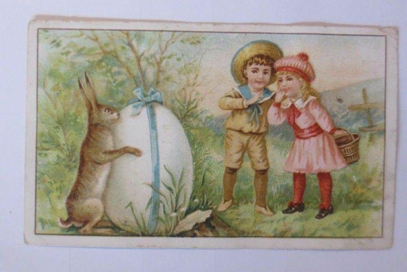 Kaufmannsbilder, A la Grande Chemiserie, Kinder, Ostern, Osterei, 1910 ♥