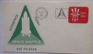 Weltraum Raumfahrt USA NASA Space Shuttle KSC to EAFB 1979 (12237)