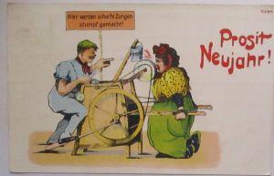 Neujahr Frau Schwiegermutter, Scharfe Zungen 1932 (66093)