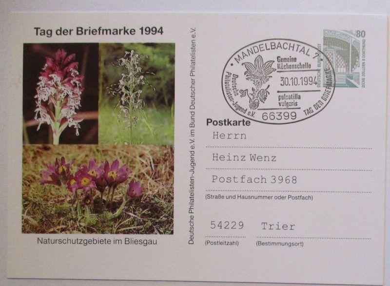 Natur Umwelt Naturschutzgebiet im Bliesgau, Mandelbachtal 1994 (31934)