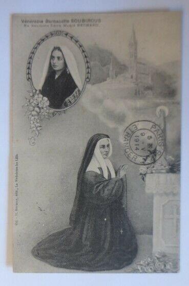 Venerabie Bernadette Soubirous Marie Bernhard   1914 ♥ (57753)