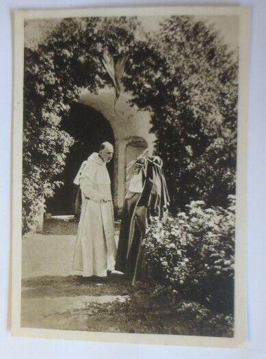 Brigittinerinnen in Vadstena Gespräch mit Dominikaner Schweden  1945 ♥ (57752)