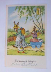 Ostern, Personifiziert, Osterhase, Ostereier, 1930, G. Lambert ♥