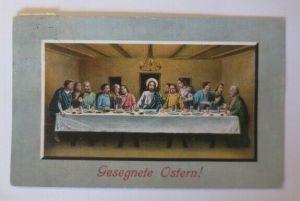 Ostern Heilige Abendmahl mit Jesus und 12 Jünger, 1910 ♥ (57749)