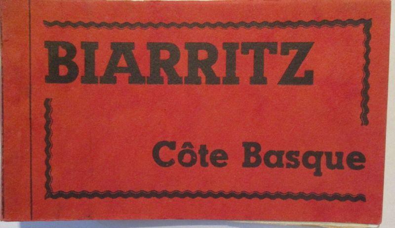 Biaritz Cote Basque 10 Karten im Heft ca. 40er Jahre (64523)