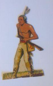Sammelbilder, Western, Indianer, 7 cm x 4 cm,  1930 ♥