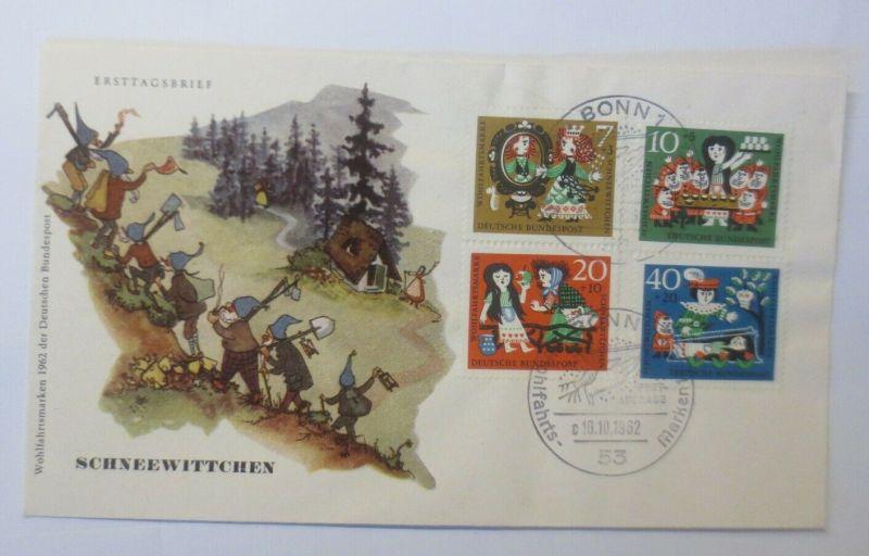 FDC Märchen Schneewittchen und die 7 Zwerge Gebrüder Grimm 1965 ♥ (57837)