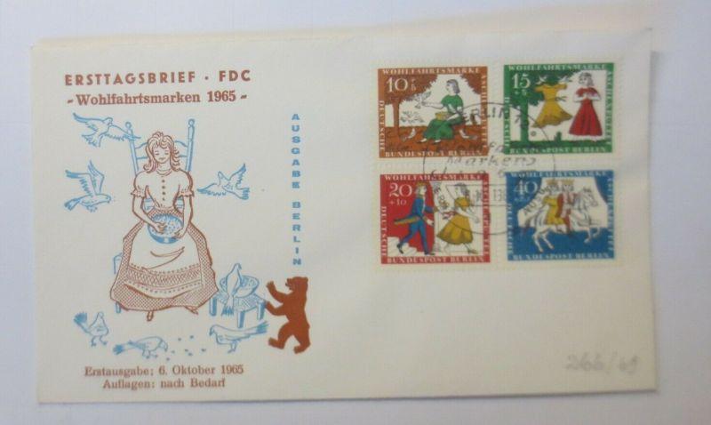 FDC Märchen Aschenputtel  Gebrüder Grimm 1965 ♥ (57836)