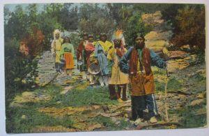 Indianer, Indians at Manitou Colorado