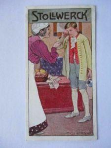 Stollwerck Sammelbild, Märchen, Der gelehrige Schüler (8191)