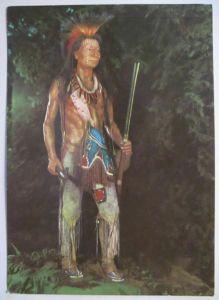 Karl May Museum Radebeul, Komantschen Indianer