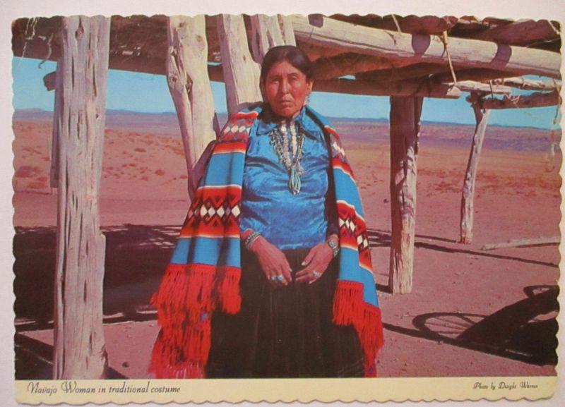Indianer, Navajo Woman, 1980 aus Albuquerque