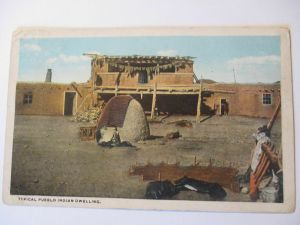 Indianer, Pueblo in New Mexico, 1925