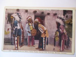 Indianer, Pueblo Indianer, Vorbereitung zum Tanz, ca. 1920