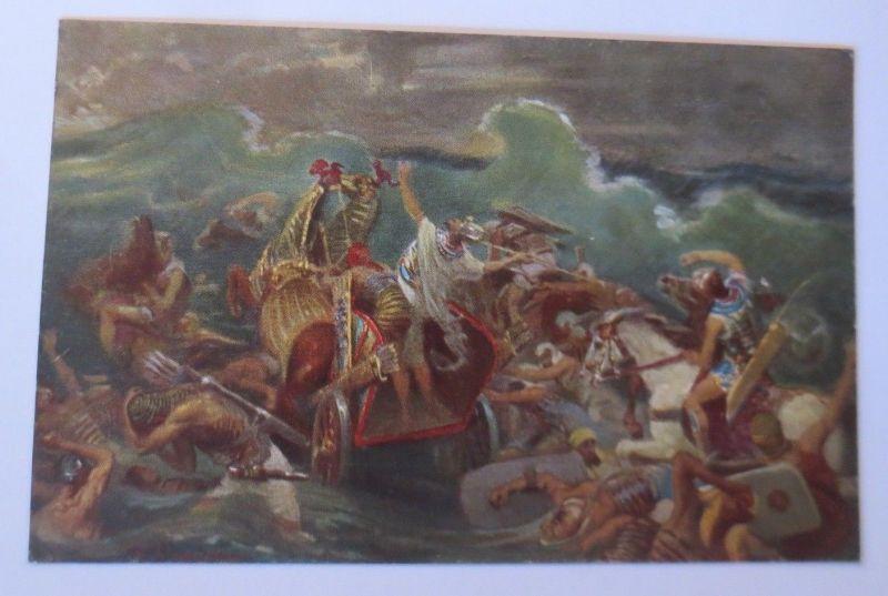 Die Heilige Schrift,Serie 2,Bild 8. Ägyptens Untergang,1910,R. Leinweber♥(68622)