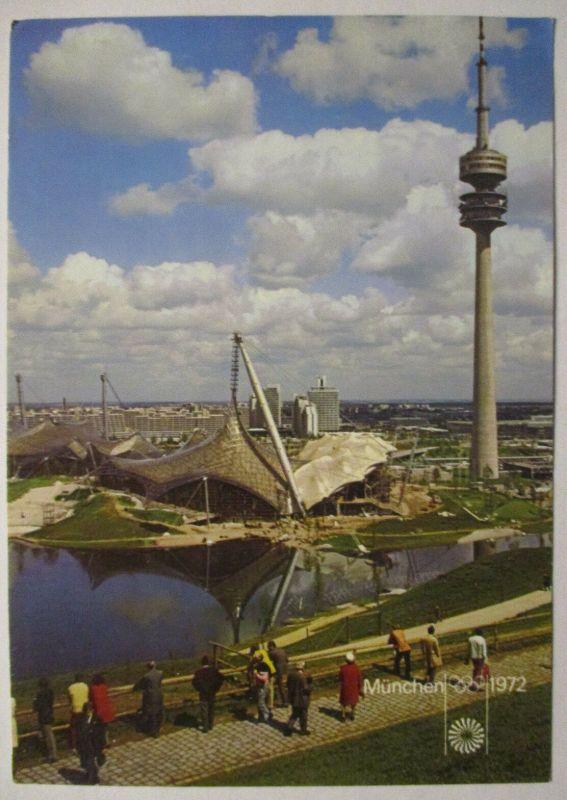 Olympia München 1972, Olympiapark, Sonderstempel Eröffnungsfeier (66680)