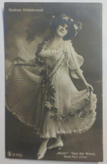 Schauspielerin, Gudrun Hildebrandt 1909 ♥ (28785)