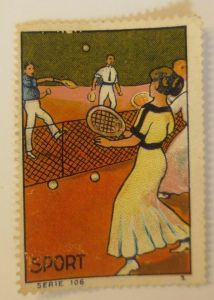 Vignetten Sport Serie Tennis 1914 ♥ (62280)