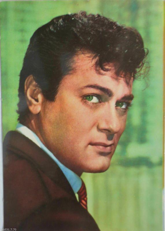 Schauspieler Tony Curtis, Fotokarte ca. 60er Jahre (19638)