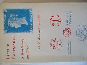 Großbritannien British Postmarks, Alcock and Hond, 2. Auflage ca. 1968