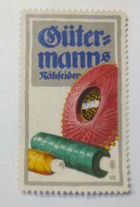 Vignetten, Gütermanns Nähseiden 1910 ♥ (34818)