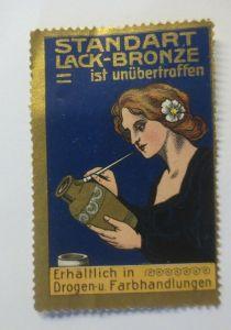 Vignetten, Standart Lack Bronze Jugendstil 1910 ♥ (13579)