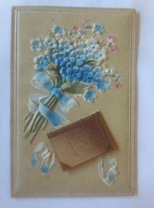Namenstag, Blumen, Vergissmeinnicht, ,1908, Meissner & Buch ♥