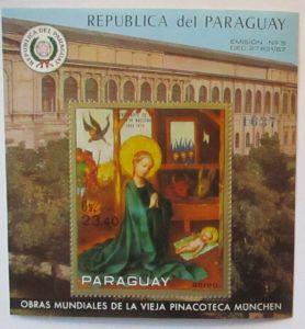 Paraguay 1992 Block Madonna postfrisch (64375)