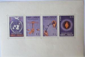 Paraguay Block 3 Menschenrechte postfrisch (58836)
