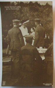 Adel Preußen, Unsere Kronprinzessin bei den Verwundeten (5369)