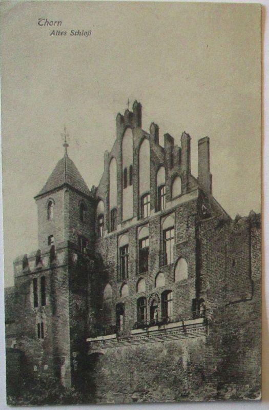 Westpreußen, Thorn Torun, Altes Schloß, Feldpost 1915 (68575)