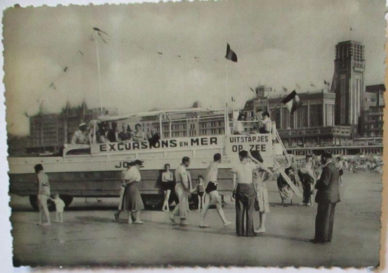 Tourismus Belgien, Excursion en Mer, Blankenberge 1958 (59818)