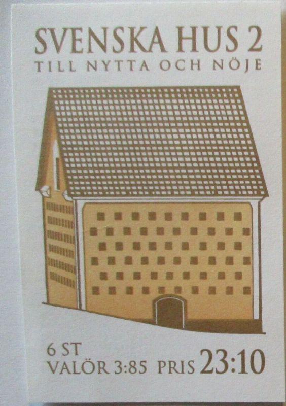 Schweden Markenheftchen Svenska Hus 2 postfrisch 1996 (43502)