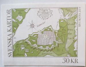 Schweden Markenheftchen Svenska Kartor postfrisch 1991 (16197)