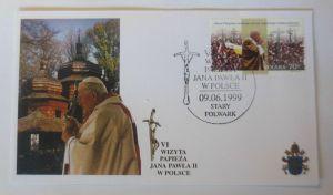 Papst Johannes Paul II.  Sonderbrief Polen 1999 ♥ (45902)