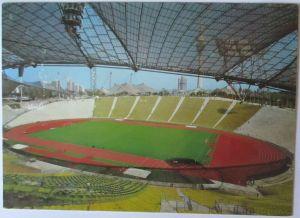 Olympia München 1972, offizielle Sonderkarte Olympiastadion, SST (21203)