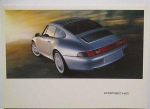 Auto Porsche 911 Werbung Reklame Postkarte (71252)
