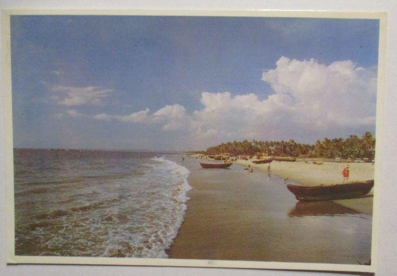 Indien Goa Fotokarte 1989 nach Dortmund (67260)