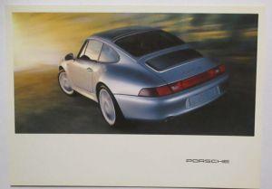 Auto Porsche 911 Werbung Reklame Postkarte (66439)