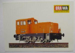 BRAWA Eisenbahn BR 101 H0 Werbepostkarte Werbung Reklame (61646)