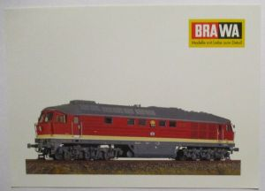 BRAWA Eisenbahn BR 130 H0 Werbepostkarte Werbung Reklame (51155)