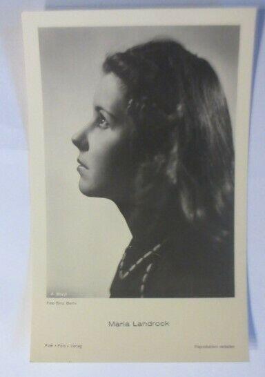 Schauspieler, Maria Landrock, Foto Binz Berlin  A. 3652/1 ♥ (51869)