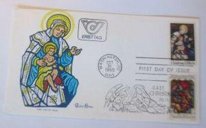 Österreich - FDC Ersttagsbrief - Sonderstempel Christkindl 1980  ♥ (49920)